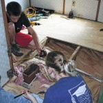 Home repairs an 'answered prayer'
