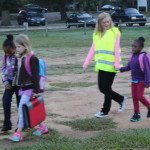Covington students hit ground walking for National Walk Day