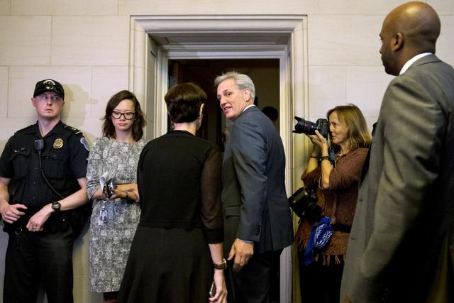 McCarthy says he is out of House Speaker race