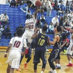 Scots falter in second half, lose 73-57