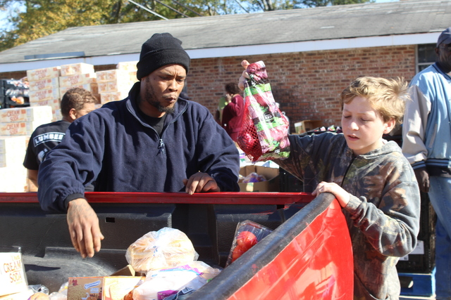 Food bank offers holiday special