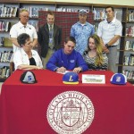 Holfert inks pledge to USC Lancaster