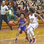 Lumberton wins battle of SEC titans