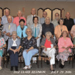 Laurinburg High Class of 1951 holds reunion