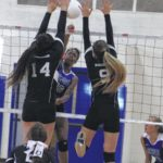 Scots fall in three sets