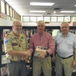 Scouting history book donated to library