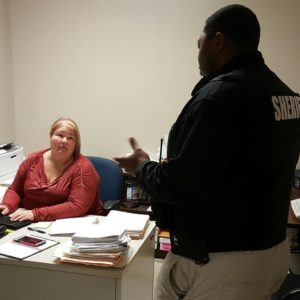 Scotland County DSS, Health Department add safety officer