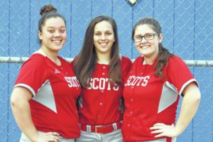 Lady Scots softball team has enthusiasm, work ethic