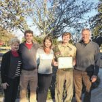 Scout receives honor