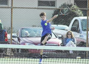 Scots tennis drops two in a row