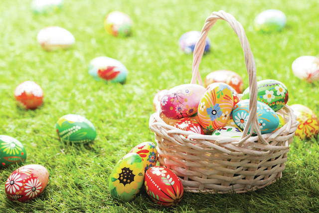 City of Powell River presents Easter egg hunt