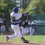 Knights baseball holds of Pfeiffer