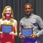 Beacham, Green named Players of the Year
