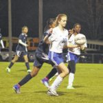 Lady Scots soccer hangs with Richmond
