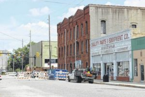Downtown upgrade closes Railroad Street